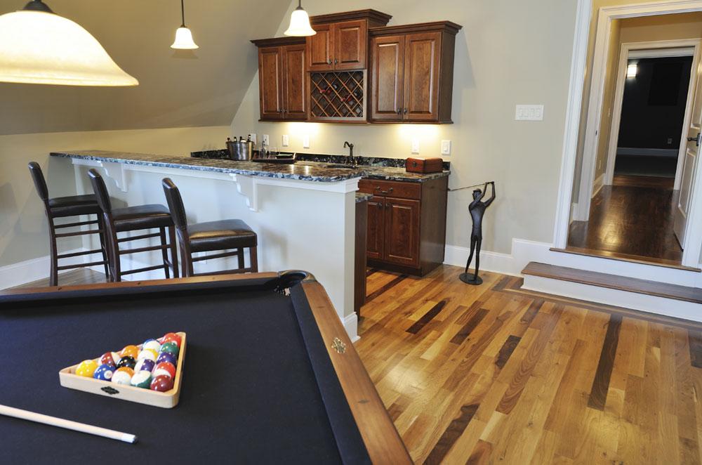 caliber basement remodel