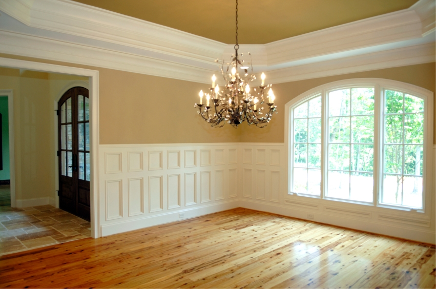 a completed job for one of our many home renovations